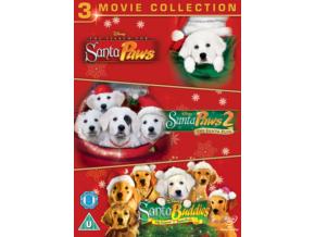 Santa Paws Triple [ The Search for Santa Paws / Santa Paws 2 / Legend Of Santa Paws ] (DVD)