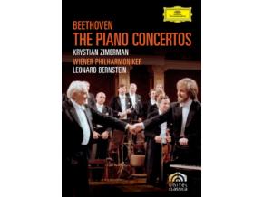 Beethoven - The Piano Concertos - Leonard Bernstein / Wiener Philharmoniker (DVD)