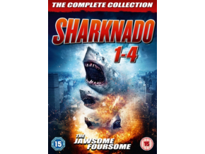 Sharknado 1-4 Box Set (DVD)