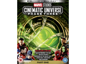 Marvel Studios Cinematic Universe: Phase Three - Part One [Blu-Ray]