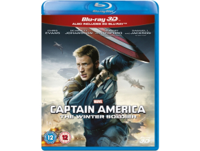 Captain America: The Winter Soldier (Blu-Ray 3D + Blu-Ray)