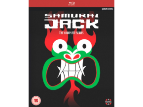 Samurai Jack The Complete Series (Includes Seasons 1-5) (Blu-ray)