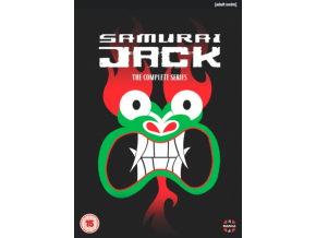Samurai Jack The Complete Series (Includes Seasons 1-5) (DVD)