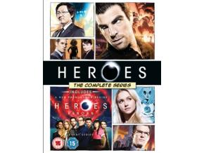 Heroes: The Complete Series (inc. Heroes Reborn) Blu-Ray