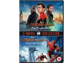 Spider-Man: Far From Home & Spider-Man : Homecoming [DVD] [2019]