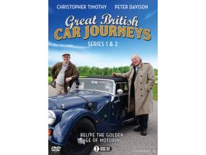 Great British Car Journeys: Series 1-2 (DVD)