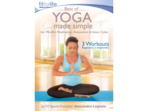 Best of Yoga Made Simple – for Mindful Meditation  Relaxation & Inner Calm (Alexandra Legouix) [DVD] [2020]