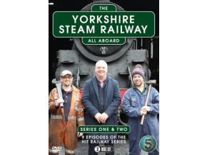 The Yorkshire Steam Railway: Series 1-2 [DVD]