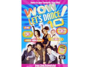 VARIOUS ARTISTS - Wow! LetS Dance Vol 10 - Karaoke (DVD)