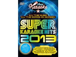 VARIOUS ARTISTS - Super Kraoke Hits 2013 (DVD)