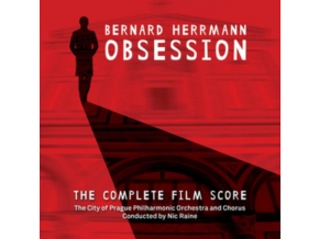 CITY OF PRAGUE PHILHARMONIC ORCHESTRA / CHORUS - Bernard Herrmann - Obsession (DVD + CD)