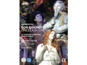 LE CONCERT SPIRITUEL / HERVE NIQUET / CORINNE & GILLES BENIZIO - Joseph Bodin De Boismortier: Don Quichotte Chez La Duchesse (DVD)