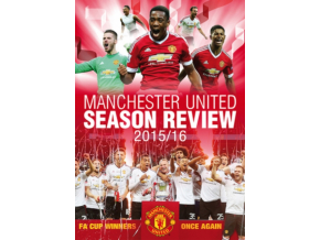 Manchester United Season Review 2015/16 (DVD)