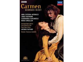 GEORGES BIZET / ANTONIO PAPPANO / JONAS KAUFMANN - Carmen (DVD)