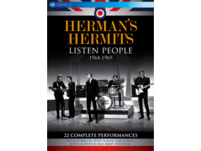 HERMANS HERMITS - Listen People 1964-1969 (DVD)