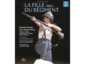 DESSAY/DIEGO FLOREZ - Donizetti/La Fille Du Regiment (Blu-ray)