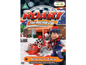 Roary The Racing Car Stars And Cars (DVD)