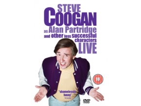 Steve Coogan As Alan Partridge  Other Less Successful Characters Live (DVD)