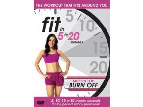 Fit In 5 To 20 Minutes Muffin Top Burn Off (DVD)