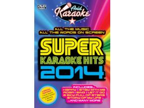 VARIOUS ARTISTS - Super Karaoke Hits 2014 (DVD)