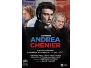 JONAS KAUFMANN / EVA-MARIA WESTBROECK / ZELJKO LUCIC / ROH / ANTONIO PAPPANO / DIRECTED BY DAVID MCVICAR - Giordano: Andrea Chenier (Live At The Royal Opera House / Covent Garden) - Dvd (DVD)