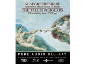 TALLIS SCHOLARSPHILLIPS - Allegrimiserere (Blu-ray)
