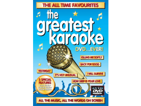 VARIOUS ARTISTS - Greatest Karaoke Dvd...Ever. The (DVD)