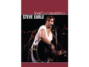 STEVE EARLE - Live From Austin Tx (DVD)