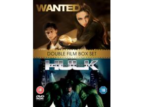 Wanted/The Incredible Hulk (DVD)