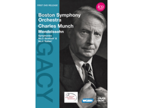 BOSTON SOCHARLES MUNCH - Mendelssohncharles Munch (DVD)