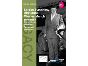 BOSTON SOCHARLES MUNCH - Schumannschubertmunch (DVD)