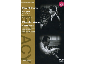 VARIOUS ARTISTS - Van Cliburnclaudio Arrau (DVD)