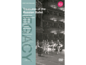 VARIOUS ARTISTS - Treasures Of Russian Ballet (DVD)