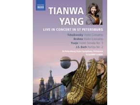YANGST PETERSBURG SOLANDE - Tianwa Yang Live In Concert (DVD)
