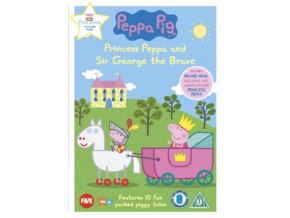 Peppa Pig Princess Peppa And Sir George The Brave (DVD)