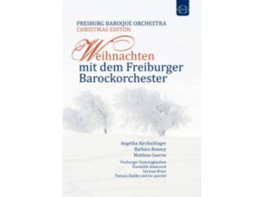 FREIBURG BAROQUE ORCHESTRA - Christmas With The Freiburg Baroque Orchestra (DVD)