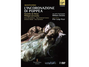 LES ARTS FLORISSANTS/CHRISTIE - Monteverdi/LIncoronazione Di Poppea (DVD)