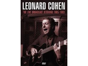 LEONARD COHEN - The Live Broadcast Sessions 1985–1993 (DVD)