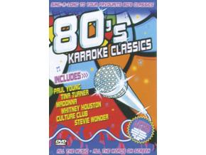 VARIOUS ARTISTS - 80S Karaoke Classics (DVD)