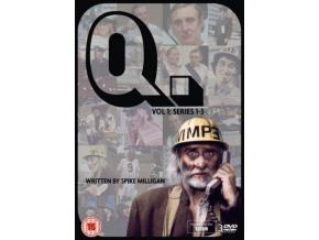 Q Volume 1 Series 1-3 (Q5. Q6. Q7) Remaining Episodes (DVD)
