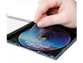 Ochrana vrchní strany disku před poškrábáním - Scratch Guard