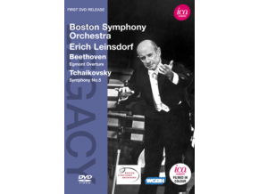 ERICH LEINSDORFBOSTON SO - Symphony No5Egmont Overture (DVD)