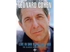 LEONARD COHEN - Live In San Sebastian 1988 (DVD)