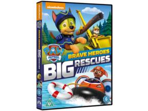 Paw Patrol Brave Heroes Big Rescues (DVD)