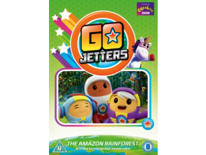 Go Jetters  The Amazon Rainforest  Other Adventures (DVD)
