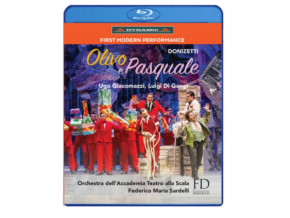 VARIOUS ARTISTS - Donizettiolivo E Pasquale (Blu-ray)