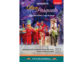VARIOUS ARTISTS - Donizettiolivo E Pasquale (DVD)