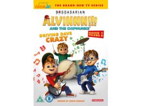 Alvin & The Chipmunks: Driving Dave Crazy (DVD)