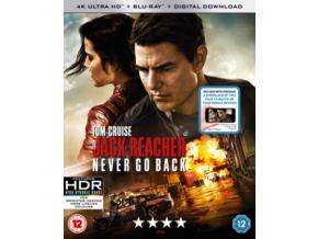 Jack Reacher Never Go Back (Blu-ray 4K)