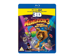 Madagascar 3 Europes Most Wanted (Blu-ray 3D)
